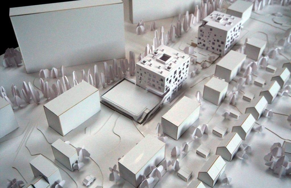Maquette des Ecoles Charmille-Schuman